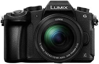 Panasonic Lumix DMC-G80M MILC 16MP Live Mos 4592 x 3448Pixeles Negro - Cámara Digital (16 MP 4592 x 3448 Pixeles Live Mos Full HD Pantalla táctil Negro) - [Versión importada]
