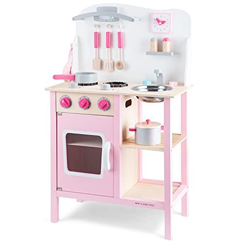 New Classic Toys- Cuisine-Bon Appétit, 11054, Rose