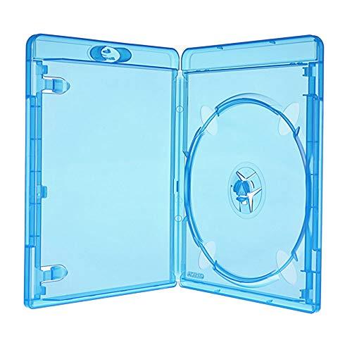 Amaray BLU RAY Hülle 11 mm für 1 Blu Ray DVD CD Single Neuware 25 Leer Hüllen