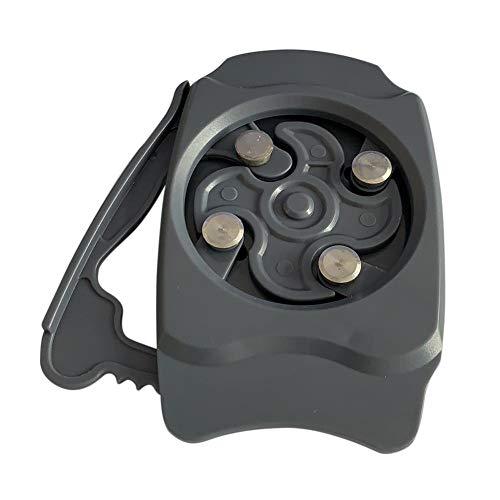 runnerequipment Go Swing - Abrelatas de corte seguro, abrelatas de borde liso manual, sin bordes afilados que salen, herramienta de cocina para el hogar para latas de bebidas de 8 a 238 ml