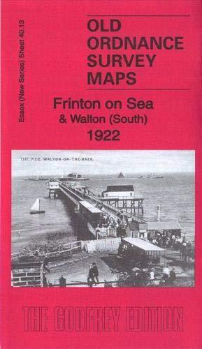 Frinton on Sea & Walton (South) 1922: Essex (New Series) Sheet 40.13...