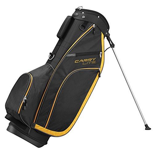 WILSON, Sacca Porta Mazze da Golf Uomo Staff Lite a 5 Scomparti, Nero (Mehrfarbig)