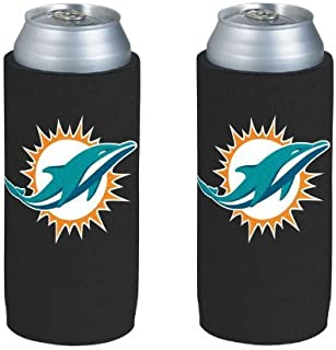 miami dolphins beer can