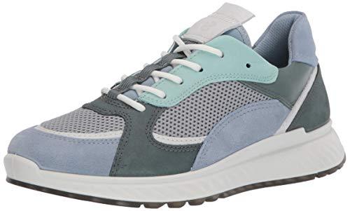 ECCO ST.1W, Zapatillas Mujer, Azul (Dusty Blue/White/Concrete/Lake 51890), 36 EU