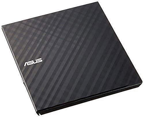 ASUS Lecteur Graveur CD / DVD externe SDRW-08D2S-U LITE Noir – Graveur DVD x8 ultra-compact, M-Disc supporté, compatibilité Windows et Mac OS