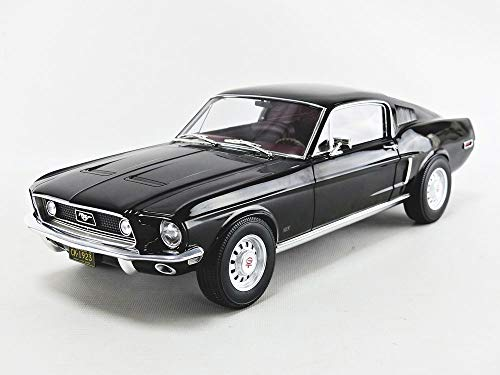 NOREV 122700 Ford Mustang Fastback 1968 - Black