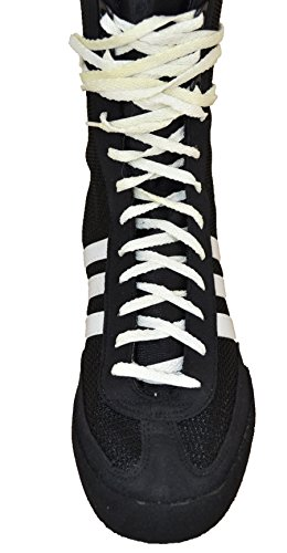 adidas Box-Champ-Speed Boxing Schwarz, - Black R White - Größe: 44 2/3 EU Stretta