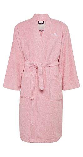 TOM TAILOR 0100300 Kimono Bademantel (Baumwolle/Polyester) S, rose
