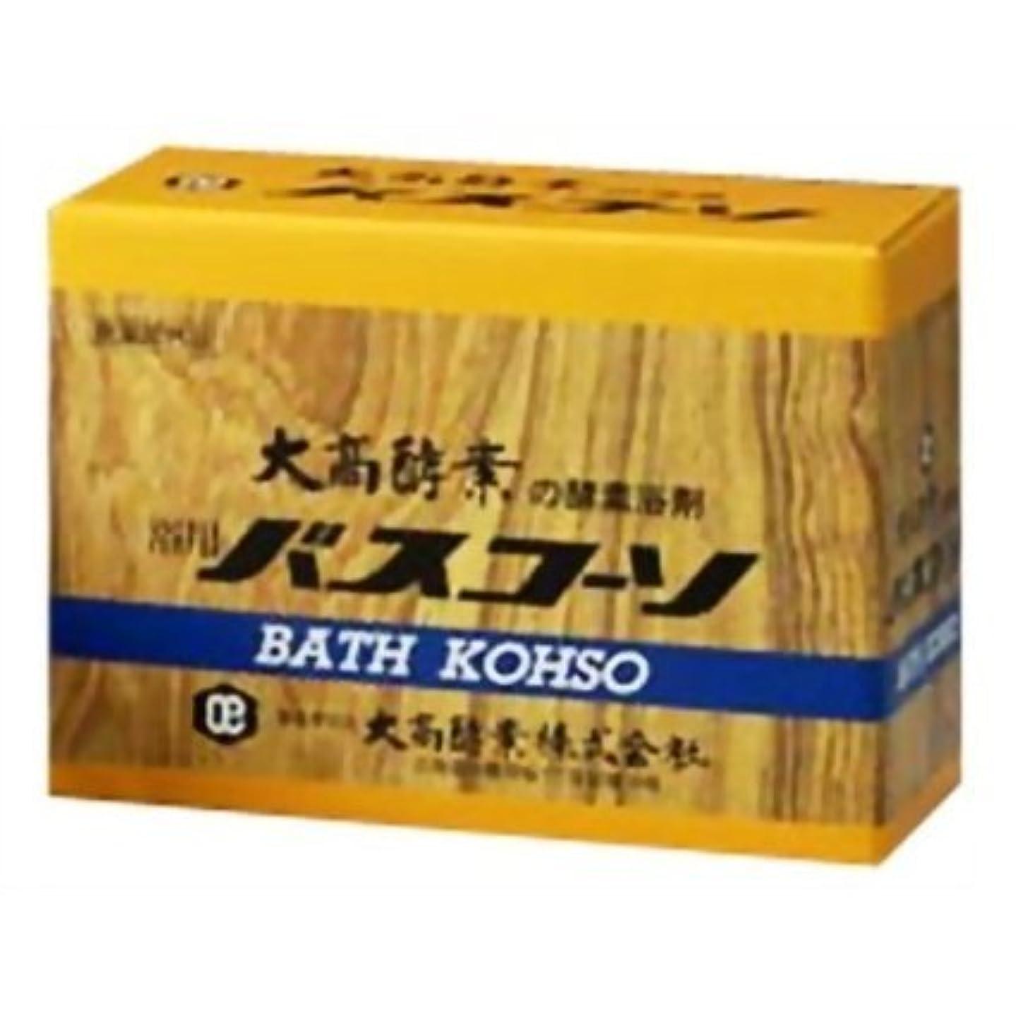 図キーレバー大高酵素 浴用バスコーソ 100gx6 【4個セット】