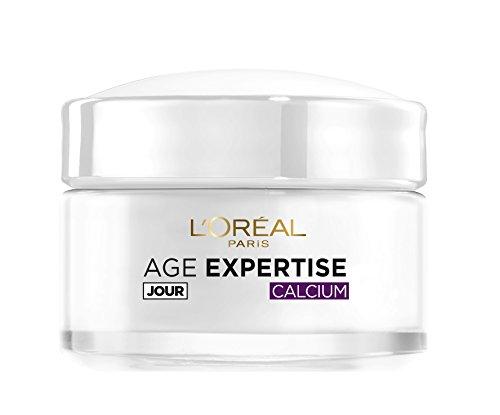 L'Oréal Paris - Age Expertise - Soin Jour Hydratant Anti-Rides Redensifiant au Calcium - 55 ans+ - 50 mL