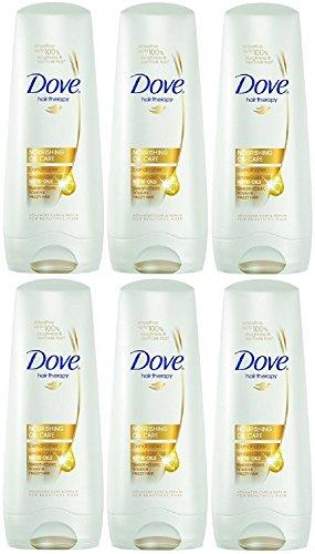 Dove Nutritive Solutions Après-shampoing à l'huile nourrissante 200 ml (lot de 6)