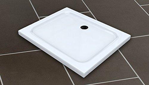 50 mm Plato de ducha 90x75 / Plato de ducha para la ducha ducha mampara de ducha