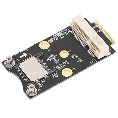 Mini-PCI-E-zu-M.2-A/E-Adapter-Konverterkarte mit SIM-Erweiterungskarten-Kit für Win10 / 8/7/200, für Linux, für OS X.