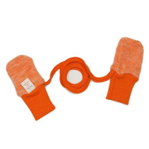 Cosilana Cosilana Handschuhe, Größe 1, Farbe Safran-Orange malange - Vertrieb nur durch Wollbody®