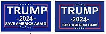 Trump 2024 President flag Save America Again Take America Back 3x5Feet Donald MAGA Republican  Take America Back