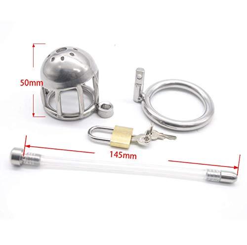 Metalen uitrustingsslot voor heren, slot zilver (ring van 45 mm) A111