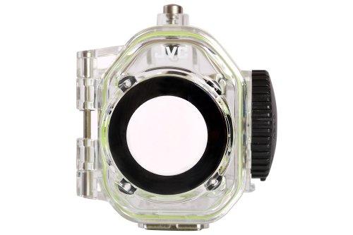 JVC WR-GX001EU Custodia Waterproof Fino a 40 mt per Adixxion Action Camera Serie 1 e Serie 2, Trasparente