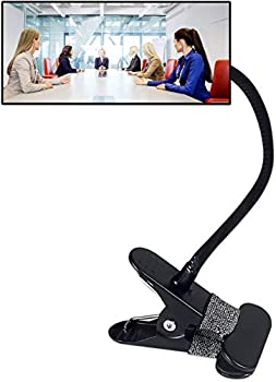 Clip On Security Mirror Computer Rearview HD Mirror Convex Cubicle Mirror for Personal Safety and Security Desk Rear View Monitors or Anywhere  6.69  x 2.95  Rectangle