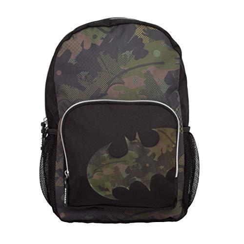 DC Comics Batman Camo Bat Boys Backpack | Official Merchandise | Back to School, Kids...