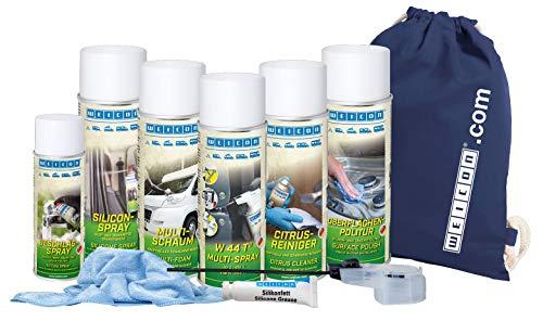 WEICON 72000001 Juego de limpieza y cuidado para camping, 6 piezas