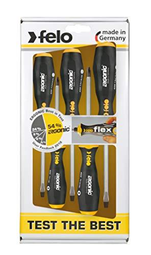 FELO ERGONIC 45095248 - Juego de destornilladores (5 piezas)