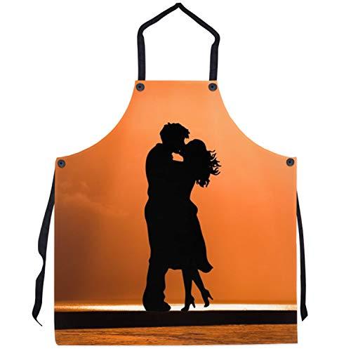 Tr73ans Gepersonaliseerde schort op maat foto Grilling Keuken Mens Womens Unieke Gift Ideeën