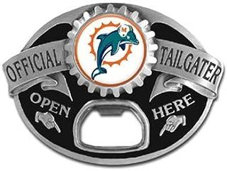 Miami Dolphins NFL Bottle Opener Tailgater Belt Buckle