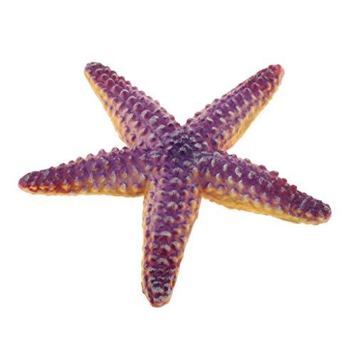 perfeclan Realista Realista Vida Marina Modelo Animal Plástico Animal Marino Figuras Niños Juguetes Educativos - Estrella de mar