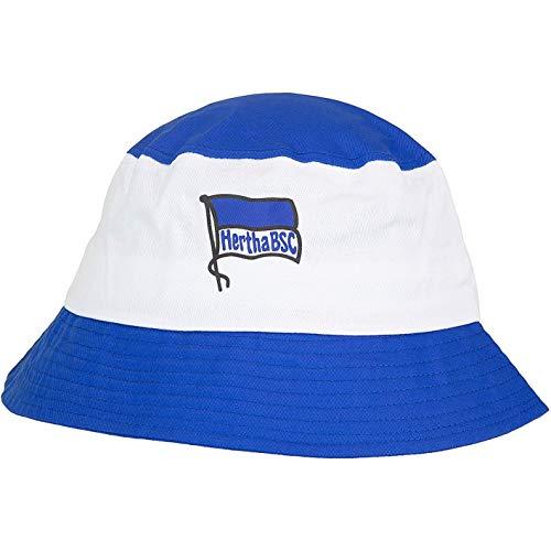 Hertha BSC Berlin Bucket Hat Fischerhut (one Size, blau/weiß)
