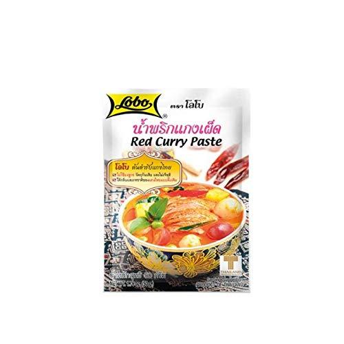 Pasta de curry rojo - 50g - pack de 3 unidades