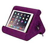 Flippy with New Storage Cubby Multi-Angle Soft Pillow Lap Stand for iPads, Tablets, eReaders, Smartphones, Books, Magazines (Orchid You Not)