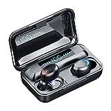 Auriculares Bluetooth, Auriculares Inalámbricos Bluetooth 5.0, IPX7 Impermeable, TWS Estéreo Auriculares Deportivos con Digital Display Caja de Carga y Mic para iPhone y Android