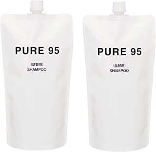 (パーミングジャパン)PURE95 アミノ酸 ノンシリコン シャンプー 720ml (360ml×2本)/ 400ml専用詰替え用 サロン専売 ピュア95