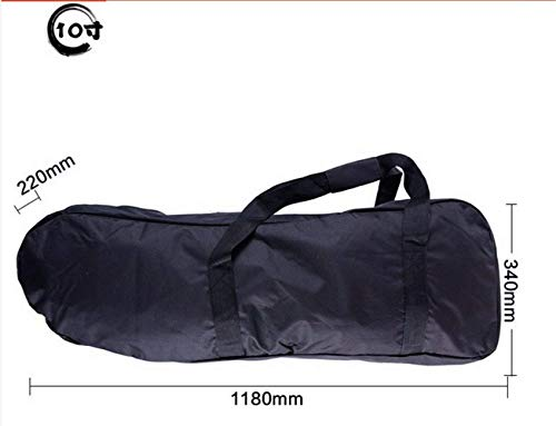 New Scooter Black Oxford Electric Carry Bag Backpack Handbag for Electric Kick Motor 8 Inch and 10 I...