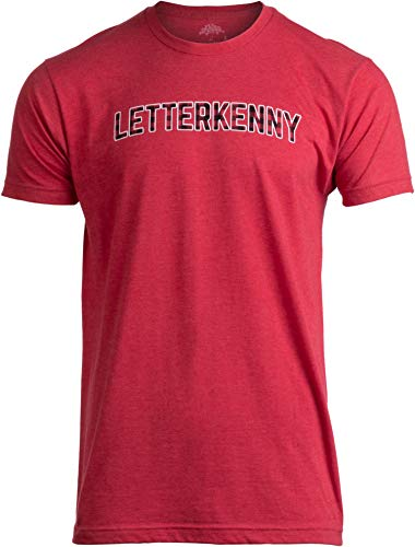 LETTERKENNY | Red Plaid Pattern Print Vintage Style Red Men Women T-Shirt