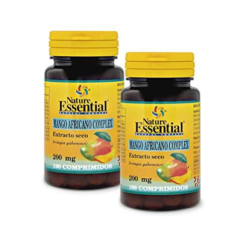Mango africano (complex) 200 mg. (ext. seco) 100 comprimidos (Pack 2 unid.)