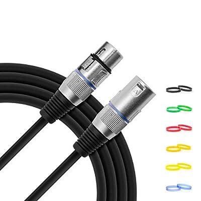 Tiger 3 Metre XLR to XLR Microphone Cable