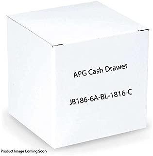 APG Cash Drawer Heavy Duty: Series 4000: 1816 Model (Part#: JB186-6A-BL-1816-C ) - NEW by APG CASH DRAWER