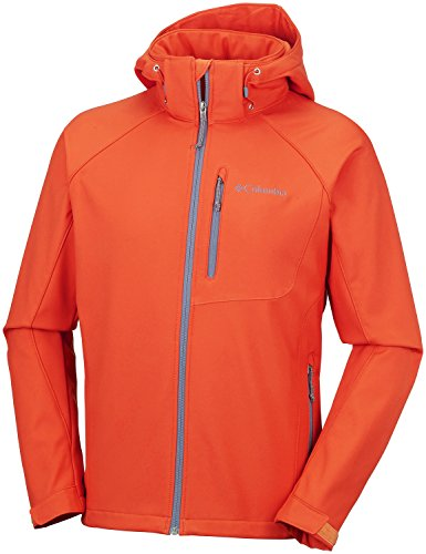 Columbia Veste Softshell Coupe-vent Homme, CASCADE RIDGE II SOFTSHELL, polyester, Couleur, Taille, WM3241