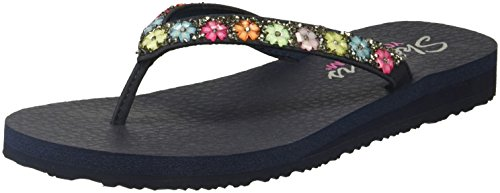 Skechers Meditation - Daisy Delight Navy 6 B (M)