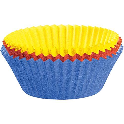 Kaiser Inspiration Maxi Muffin Förmchen, 80 Stück, farbig, Ø 8,5 cm, fettdicht, ideal für süße und herzhafte Muffins