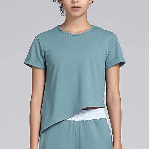 Trihedral-X Yoga kleding vrouwelijke lente en zomer blazer was dun verstelbare zoom lo shi t-shirts fitness trainingsruimte