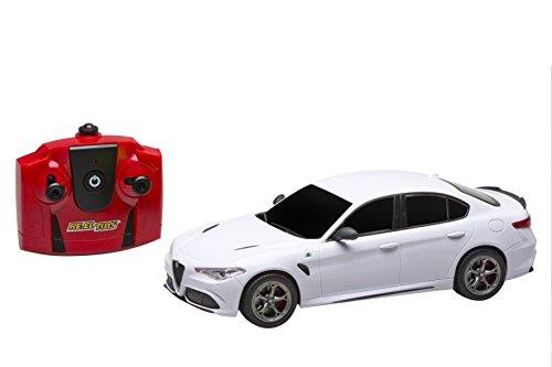 Re.El Toys Alfa Romeo Giulia Quadrifoglio Rc Mezzi Giocattolo Auto, Multicolore, 8001059021697