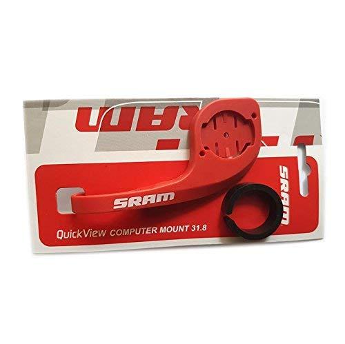 Support de Guidon SRAM Red Compatible avec Garmin Edge 200 500 510 520 800 800 810 820 1000 avec Adaptateur