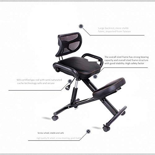 Kneeling stoel QIQIDEDIAN Ergonomische Ergonomische bureaustoel verstelbare kruk, promoten goede houding,5 kleuren te kiezen uit QIQIDEDIAN