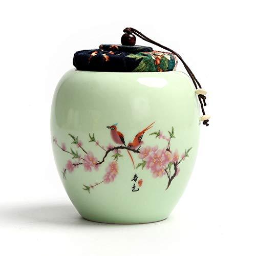 DongGuanShiHongBoZhu Cerámica Vintage Multicolor: latas Selladas para Hierbas, café, Especias, té y...