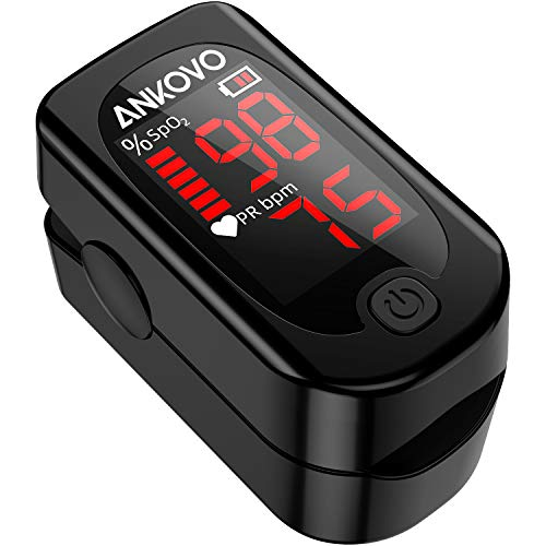 Pulse Oximeter Blood Oxygen Monitor Now $32.99
