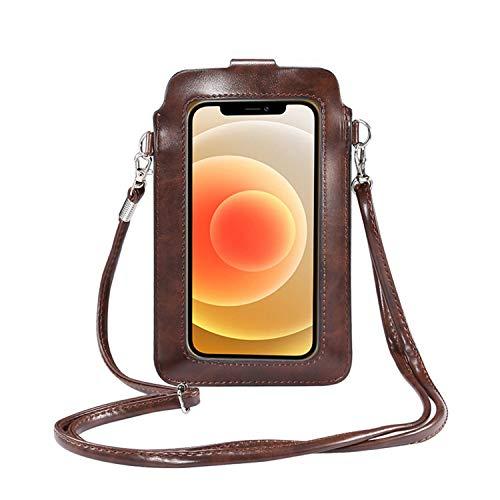 Leichte Umhängetasche für Handy mit Touchscreen, Schultertasche, Handtasche