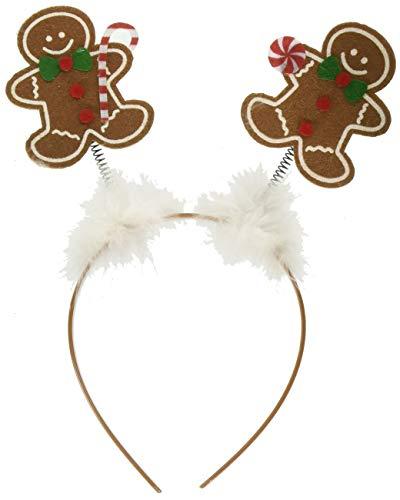 amscan Christmas Gingerbread Head Bopper, 10' X 9'