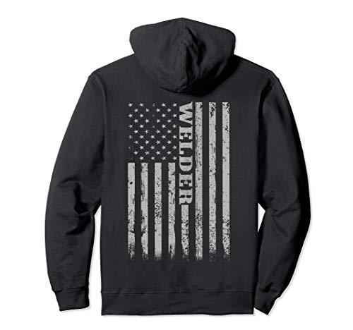 Welding Hoodie   Proud American Welder